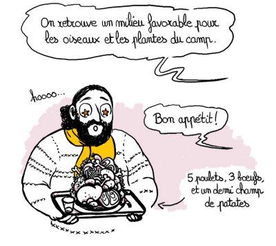 Mission Orchis Militaris, illustration. Elléa Bird, illustratrice, Lyon.