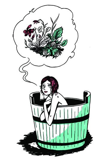 Claudine à Paris, illustration. Elléa Bird, illustratrice, Lyon.