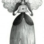 Virginia : The Canterville Ghost, Oscar Wilde, illustration. Elléa Bird, illustratrice, Lyon.