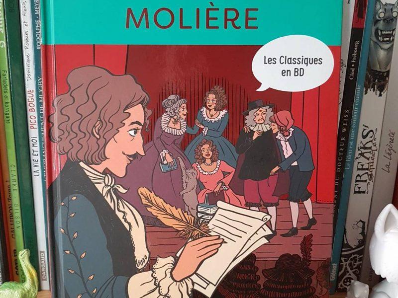 Les Classiques en BD : Molière (Casterman)