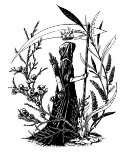 The King of Fears, illustration. Elléa Bird, illustratrice, Lyon.