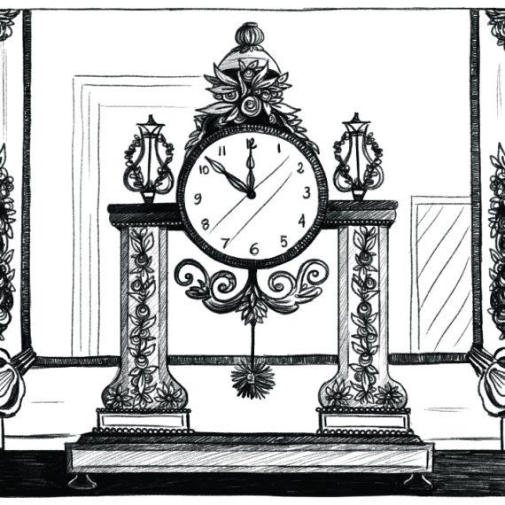 Louis XVII, illustration. Elléa Bird, illustratrice, Lyon.
