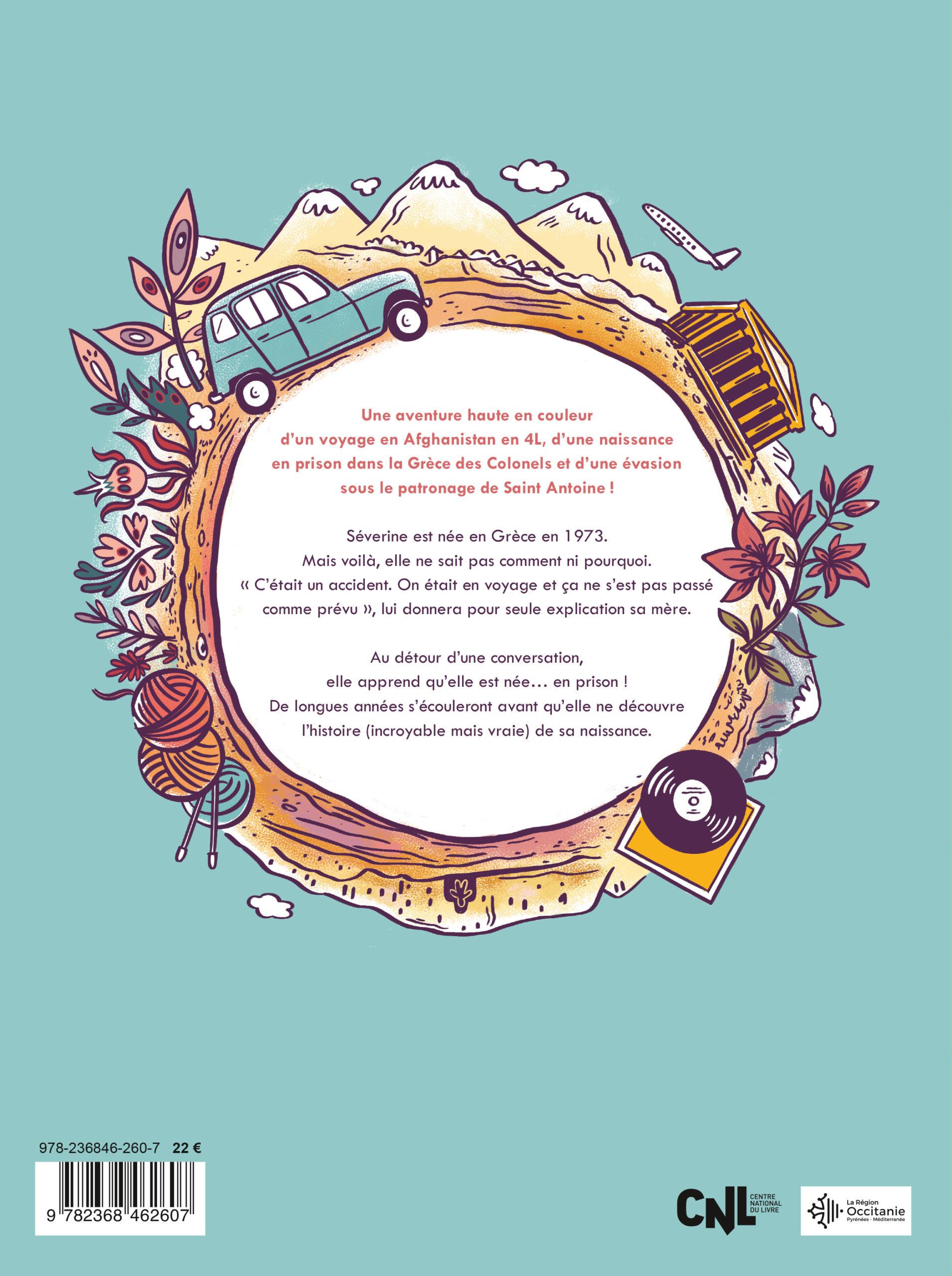 BD Hippie Trail par Séverine Laliberté et Elléa Bird, résumé