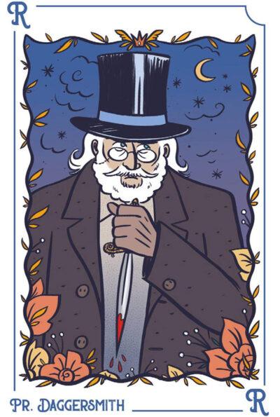 Carte jeu Sherlock Kem's - illustrations Elléa Bird