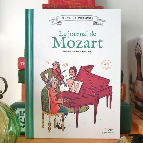 journal de mozart, ellea bird marianne vourch, belin